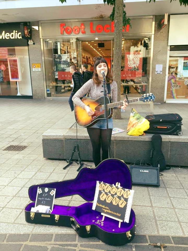 Busking in Liverpool and St.Helens